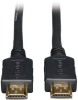 High Speed HDMI Cable, HD 4K x 2K, Digital Video with Audio (M/M), Black, 30-ft. -- P568-030 -- View Larger Image