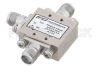 Double Balanced Mixer Operating from 5 GHz to 20 GHz with an IF Range from DC to 3 GHz and LO Power of +20 dBm, Field Replaceable SMA -- PE86X1006 -Image