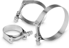 T-Bolt Band Clamps -- Standard Items