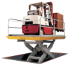 Heavy Duty Loading Dock Lifts -- DL10-59H - Image