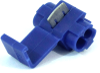 3M 06127 Scotchlok 801 IDC Tap Connector, 18-14 AWG, Blue -- 31562 - Image