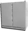 Two Door Painted Steel NEMA 4 Free Standing Enclosure with S -- F5-604836