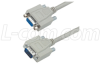 Deluxe Molded D-Sub Cable, HD15 Male / Female, 5.0 ft -- CHD15MF-5