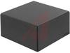Enclosure,Plastic,ABS,Flame Retardant,Textured,Black,3Lx3Wx1.5H -- 70196679