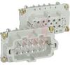 INSERT; 600 V (UL, CSA), 500 V (VDE); 16 A; PLUG; MALE; 10; SILVER; EPIC -- 70124301