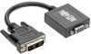 DVI-D to VGA Active Adapter Converter Cable, 1920x1200, 6 in. -- P120-06N-ACT - Image