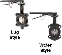 Butterfly Valve Body Types image