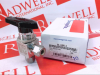 SS 1-PIECE 40 SERIES ANGLE PATTERN BALL VALVE 2.0 CV 3/8 IN. SWAGELOK TUBE FITTING -- SS44S6A
