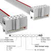 Rectangular Cable Assemblies -- H3CCS-1018G-ND -Image