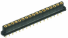 17 Pos. Female SIL Vertical Throughboard Conn. for Latches -- M80-8401745 - Image
