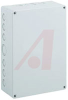 ENCLOSURE,POLYCARBONATE,INDUST,IP66,NEMA 4X,KNOCKOUTS,10.0X7.09X3.31IN,GRAYCOVER -- 70074735 - Image