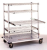 Cleanroom Shelving -- Cleanroom Wire Shelving (Starsys) -- View Larger Image