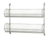 Wire Shelving - Cantilever Wall Mount Systems - Complete Packages - CAN-34-1448BC-PWB - Image
