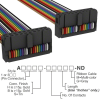 Rectangular Cable Assemblies -- A3DDH-2006M-ND -Image