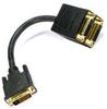 1ft DVI-D Splitter 1M (24+1)/2F(24+1) -- 10DV-180651 - Image