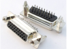 Interconnect Input/Output Connectors -- Dsub 3 Row Connectors