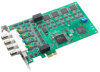 Simultaneous 4-ch Analog Input PCI Express Card -- PCIE-1744