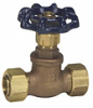 Stop Valve with Compression Ends -- SSC