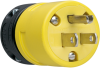 Rubber Housing Plug, Yellow -- 1447 -- View Larger Image