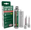 Henkel Loctite HY 4070 Hybrid Adhesive Clear 11 g Cartridge -- 2264448 -Image