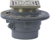 Floor Drain with Square Strainer -- FD-100-M -- View Larger Image