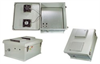 18x16x8 Inch Weatherproof Enclosure with PoE Interface and DC Cooling Fans -- NB181608-40F -- View Larger Image
