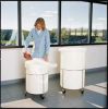 Round Tank Assembly,26 Gal,White -- 3VZY4