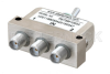 SPDT SMA Manual Toggle Switch, DC to 22 GHz, Rated to 50 Watts -- PE7SM1000A