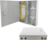 Fiber Enclosure Wall Mount with 24 SC(UPC) Single Mode Couplers & Pigtails -- FE-WM24SC