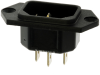 Power Entry Connectors - Inlets, Outlets, Modules -- 486-1003-ND -Image
