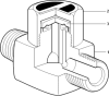 Thermodynamic Steam Trap -- TD10 - Image