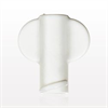 Non-Vented Female Luer Lock Cap with Wings, White -- 65731 -Image