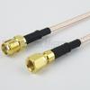 SMA Female to SMC Plug Cable RG316 Coax in 48 Inch -- FMC1318316-48 -Image