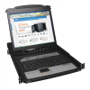 NetDirector 8-Port 1U Rack-Mount Console KVM Switch with 19-in. LCD and IP Remote Access -- B020-U08-19-IP