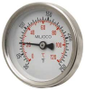 Thermometer,Hot Water,2.5 In,30 to 250 F -- 5DJG7