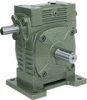 Casting Iron Worm reducers Metric Dimension -- Series WS