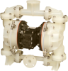 Diaphragm Pumps with Ball Check -- Containment Duty Metallic and Non-Metallic Pumps - Air Operated
