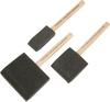3 pc Foam Paint Brushes -- 8363665 - Image