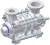 Multistage Ring Section Pumps -- MBN-RO - Image