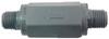 Check Valve Plastic Ball and Spring -- SPC-4C4M-K-H-V