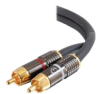 Cables To Go SonicWave Dual Channel RCA Audio Cable -- 40083
