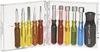 Screwdriver and Nutdriver Set; 11; 5; Screwdriver and Nutdriver; Plastic; Box -- 70223495