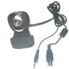 USB Color Web Camera with Built-in Microphone (100K Pixels) -- MSL-AUD-WKCM