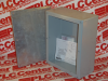ENCLOSURE 10X8X4IN NEMA3R GALV COVER W/GASKET -- 56120 - Image