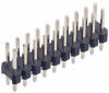 10+10 Pos. Male DIL Vertical Throughboard Conn. -- M20-9981045 - Image