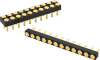 8Y254 Series Target Connectors for Spring Probe, 2.54mm/0.100