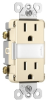Combination Switch/Receptacle -- NTL-885TRLACC6 -- View Larger Image