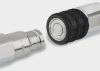 Clean-break hydraulic quick coupling -- MPX