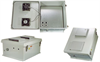 18x16x8 Inch Weatherproof Enclosure with PoE Interface and DC Cooling Fans -- NB181608-40F -Image