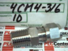 FITTING COMPRESSION MALE CONNECTOR 1/4TX1/4MNPT -- 4CM4316